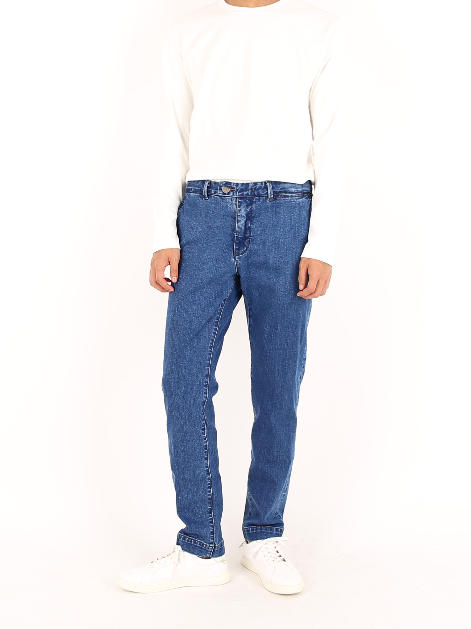 Courteous Jean,Blue - 커티어스 진,블루 (Slim Straight Fit) [JMJ-10(S)]